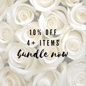 10% off 4+items!